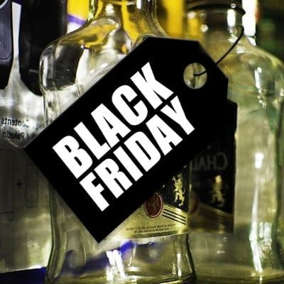 Black Friday bebidas Whisky