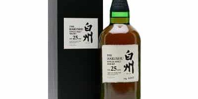 Mejor whisky japones Hakushu